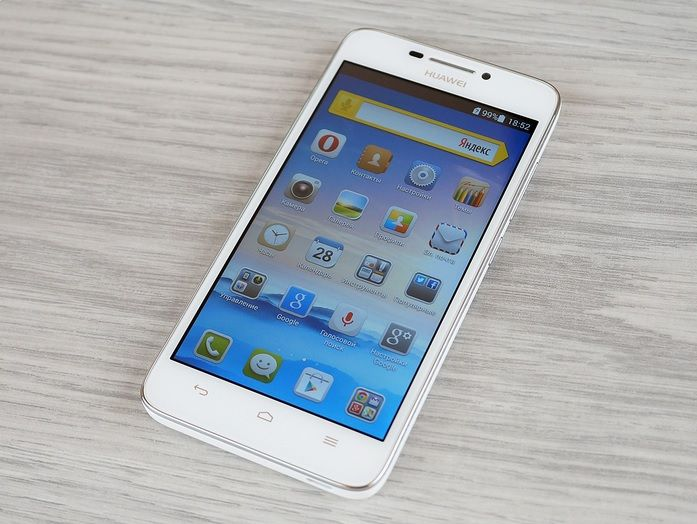 Review of Huawei Ascend G630: budget, but with Qualcomm