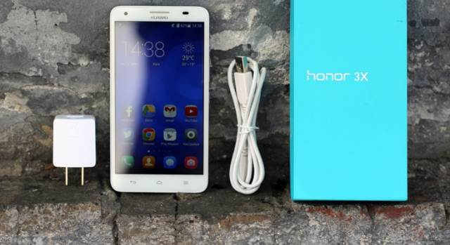 Review of Huawei Honor 3X