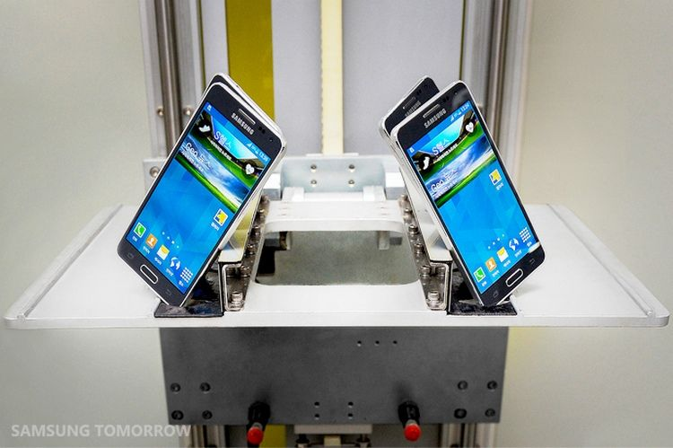 Samsung showed the process of making the body Galaxy Alpha