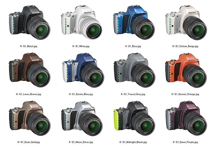 Announcement of Pentax K-S1