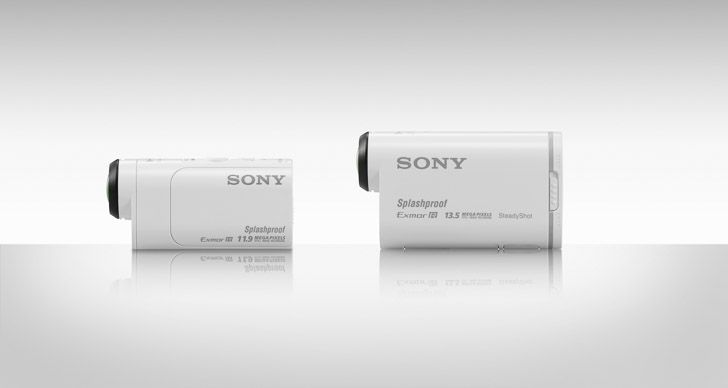 The announcement of Sony Action Cam Mini
