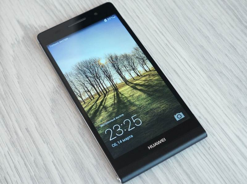 Huawei Ascend P6S: the return of the flagship