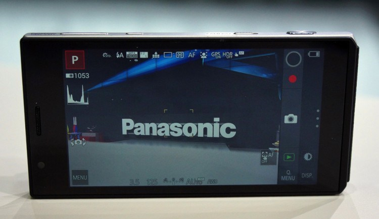 Panasonic Lumix CM1 - camera from Leica, the possibility of Android