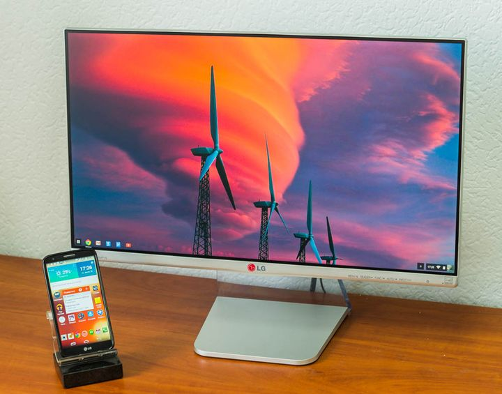 Review of the Monitor LG 24MP76 – the triumph of design over ergonomics