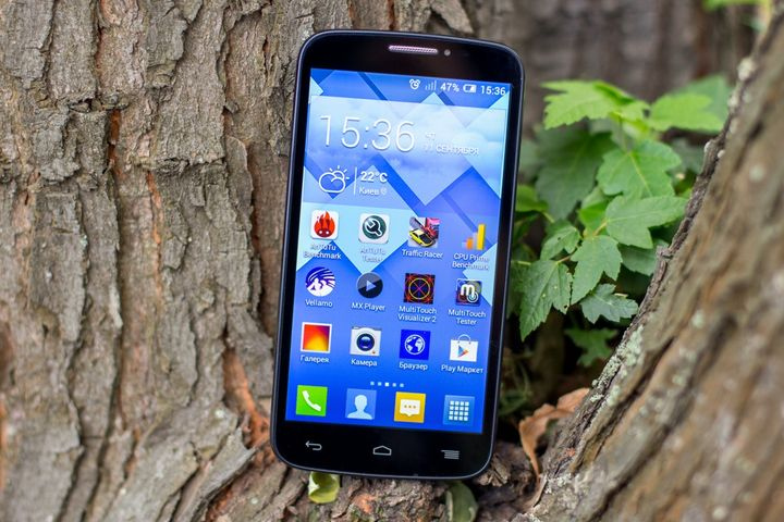 Review of the smartphone ALCATEL ONETOUCH POP C7