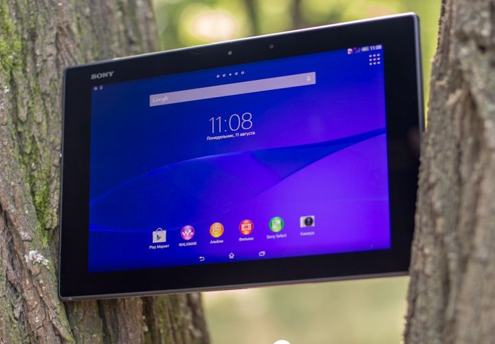 "Review Sony Xperia Z2 Tablet 16GB LTE / 4G (Black) SGP521: ""thin and pumped!"""