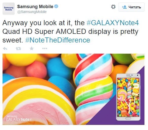 When Samsung will update their smartphones to Android operating system 5.0 Lollipop