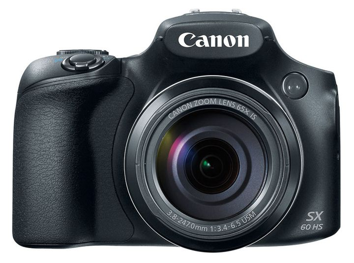 Announcement of Canon PowerShot SX60 HS