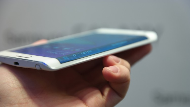 Why curved hem Galaxy Note Edge: version of the Samsung