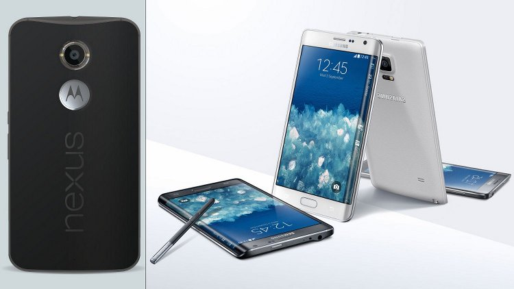 "Nexus 6 and Galaxy Note Edge. ""Spades"" or elegant Soup future?"