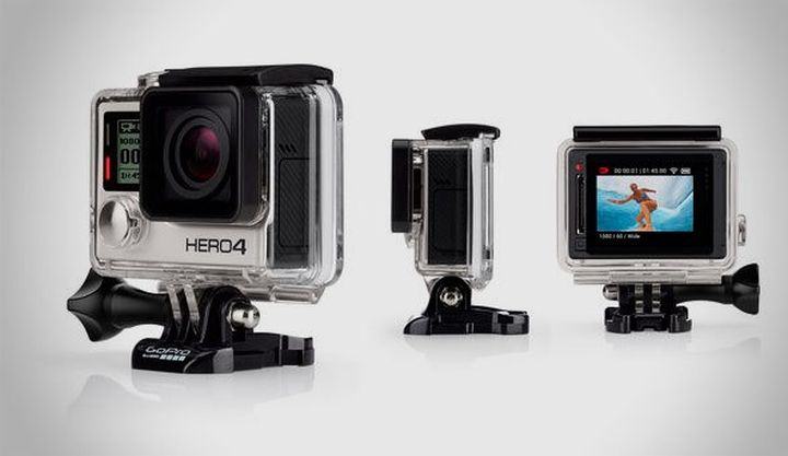 GoPro HERO4 - a new range of the most popular action-cameras