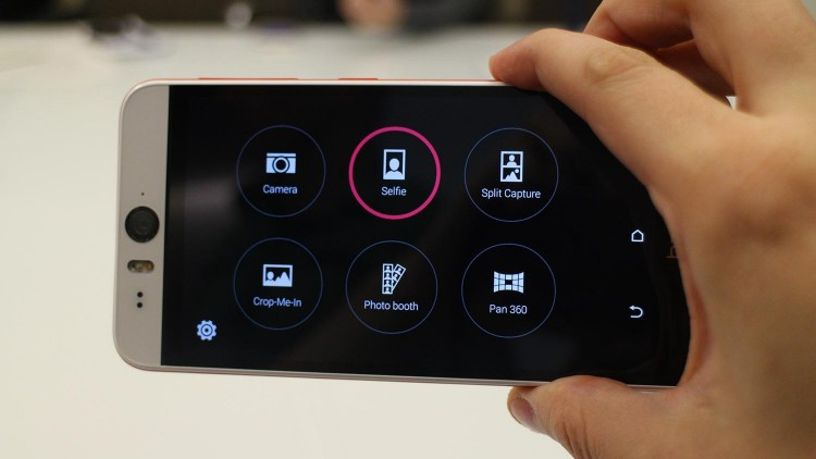 HTC told about the most impressive camera features in Desire Eye