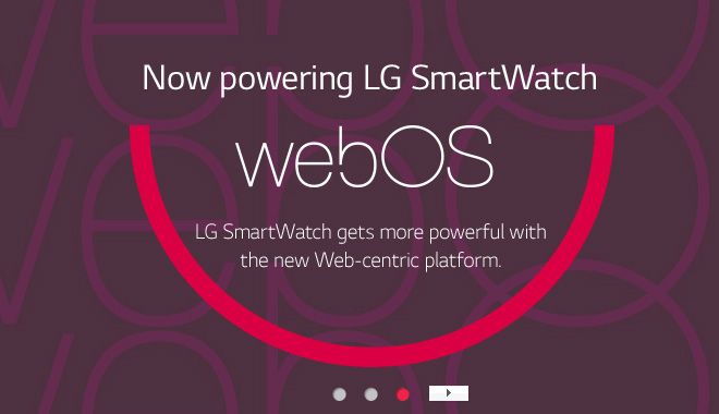 LG is preparing to webOS Smart Watch