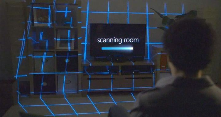 Microsoft continues to experiment with technology IllumiRoom