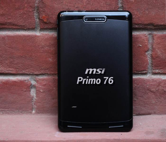 MSI Primo 76 review