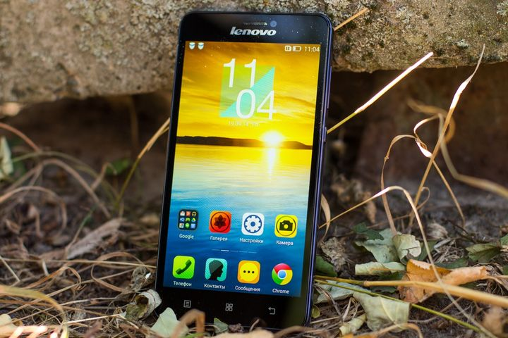 "Review of the smartphone Lenovo S850 – ""Einstein from the glass!"""
