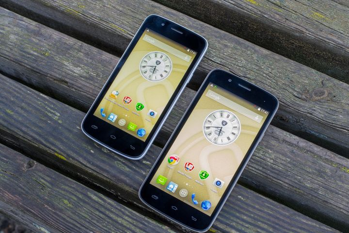 Review smartphones of the Prestigio MultiPhone 5504 DUO and 5453 DUO – «almost like brothers!""