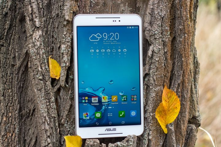 Review of the tablet ASUS Fonepad 8 (FE380CG) – two SIM-cards by 8 inches