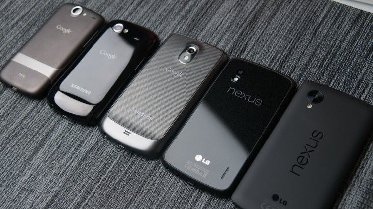 What is the best smartphone in the past history line of Nexus