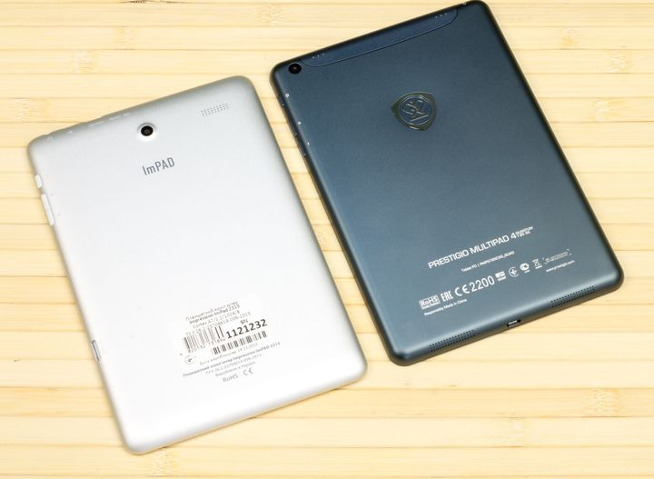 Review top tablets 2014 Prestigio MultiPad 4 Quantum 7.85 vs Impression ImPAD 2313
