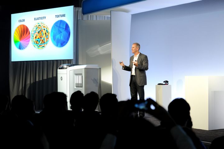 HP is taking a step in the direction of leadership in the field of 3D-printing 2015