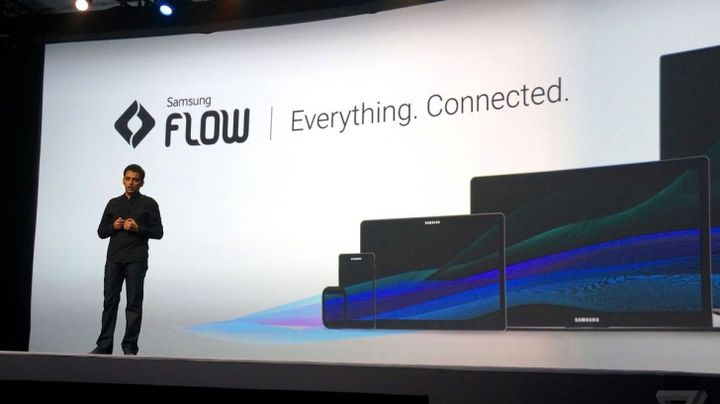 Flow - Continuity and now from Samsung