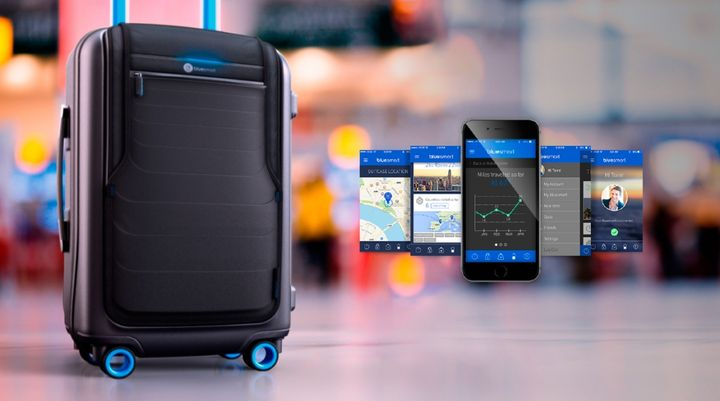 GPS-suitcase on Indiegogo, or How to collect $ 600,000 in three days