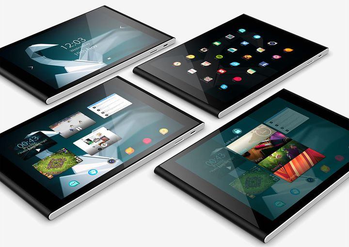Tablet from Jolla at Sailfish 2.0