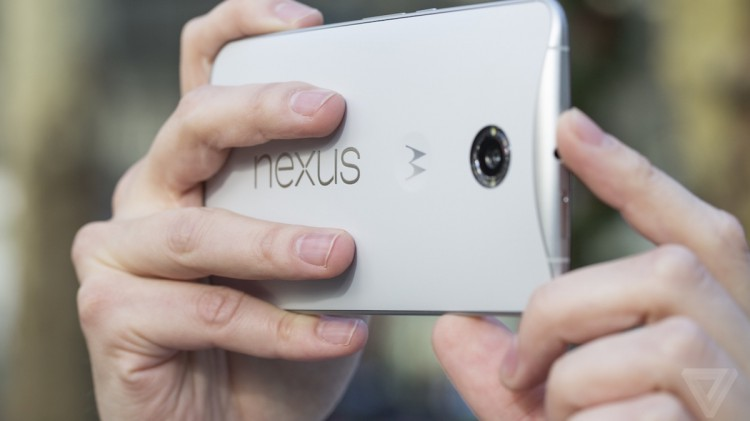 What a surprise hides faceplate Nexus 6?