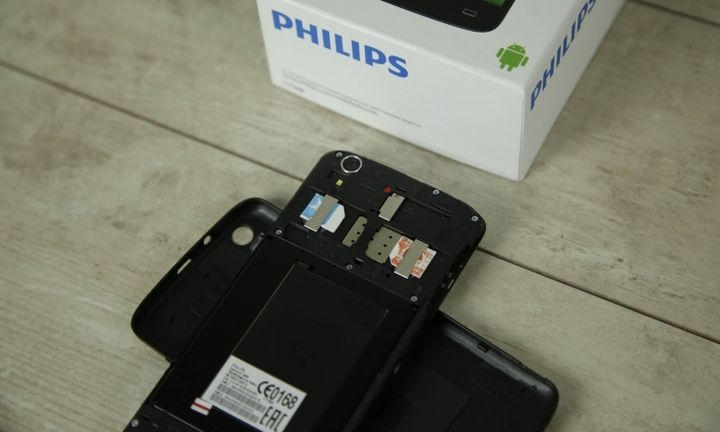 Smartphone Philips Xenium I908 review