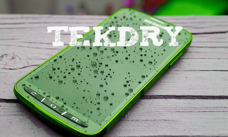 TekDry - service that can dry your smartphone after falling into water