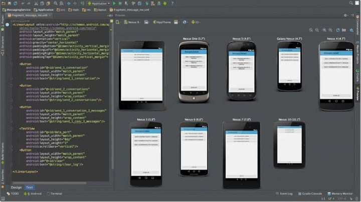 Google released Android Studio 1.0