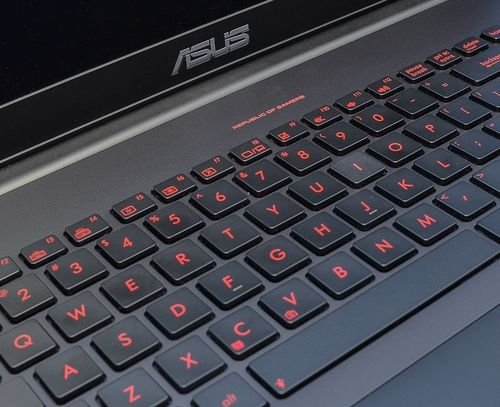 ASUS G550JK review - laptop-werewolf