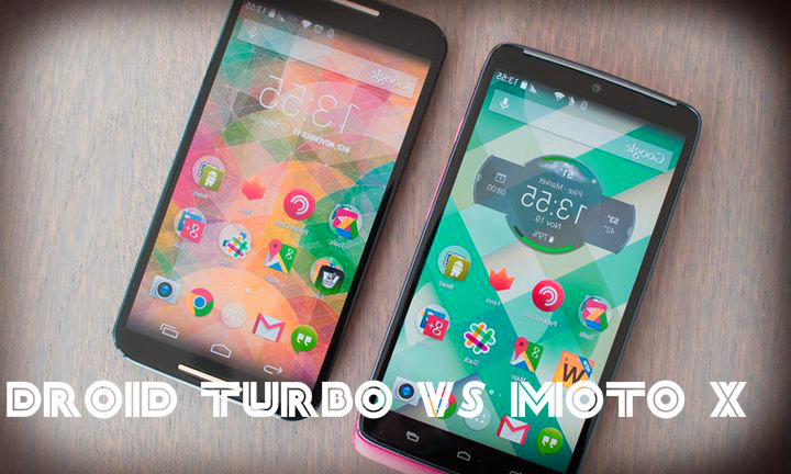 Droid Turbo vs Moto X