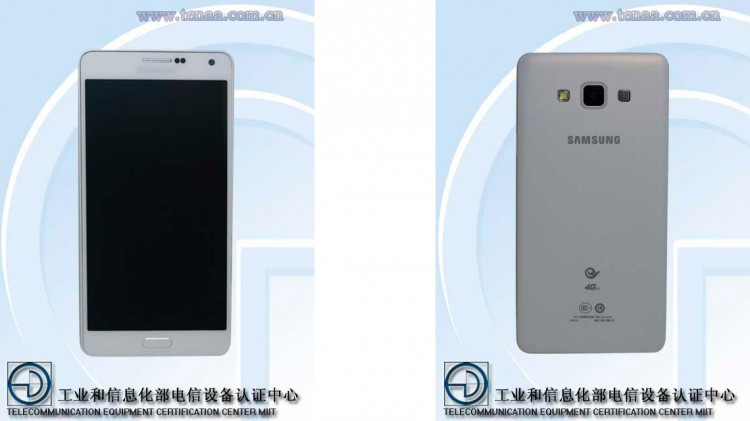 The network got the first pictures of thin smartphone Galaxy A7