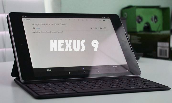 Review of the official cover of the Google Nexus 9