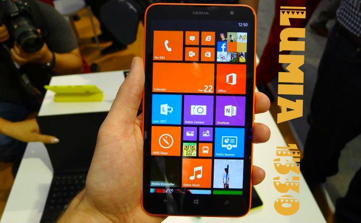Microsoft wills Lumia 1330 at MWC 2015