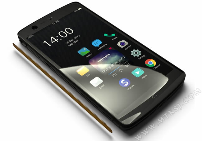 Manta X7: the first smartphone without a physical key