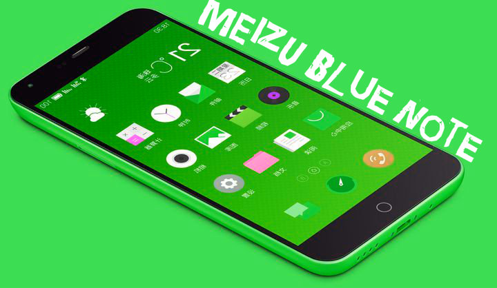 MEIZU Blue Note officially presented