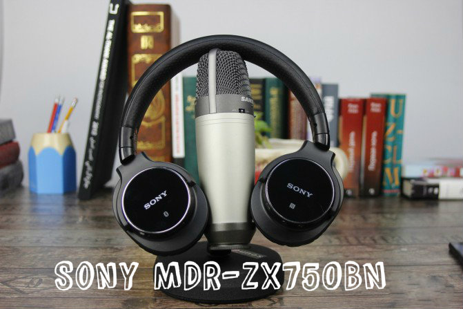 Review of Bluetooth-headset Sony MDR-ZX750BN
