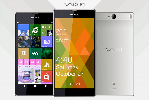 The first smartphone from the VAIO