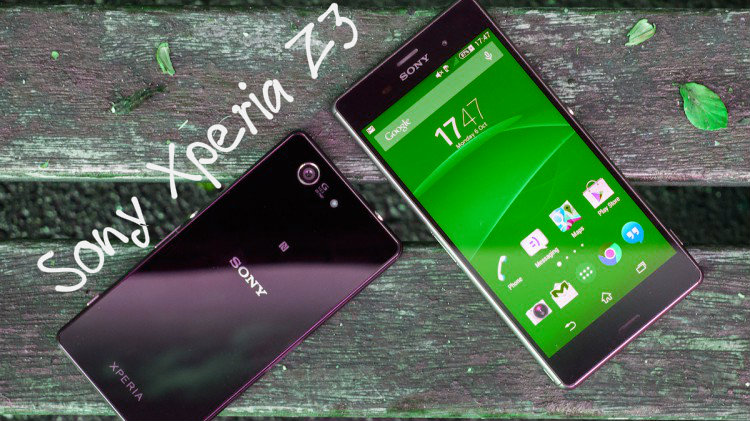 How to destroy the Sony Xperia Z3?