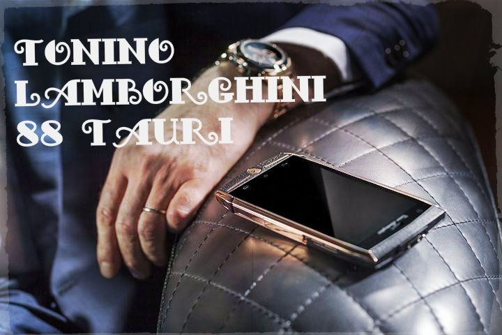 Tonino Lamborghini 88 Tauri – the most prestigious smartphone runs on Android