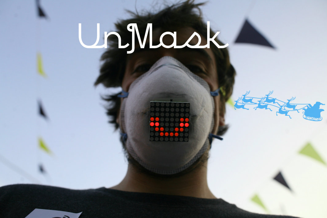 UnMask - the concept of the mask that will show your emotions