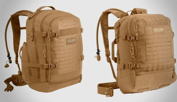 Camelbak announced a new modern drinking system for military and backpacks