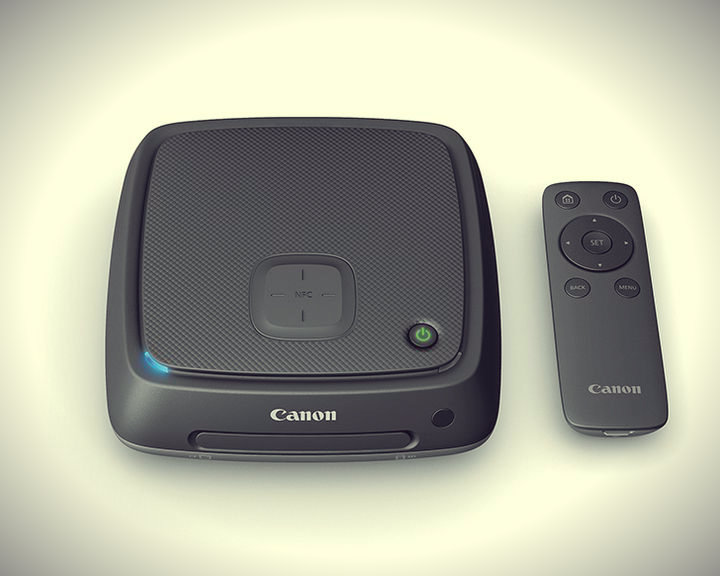 CES 2015. The announcement of Canon Connect Station CS100 - Docking Station for amateurs