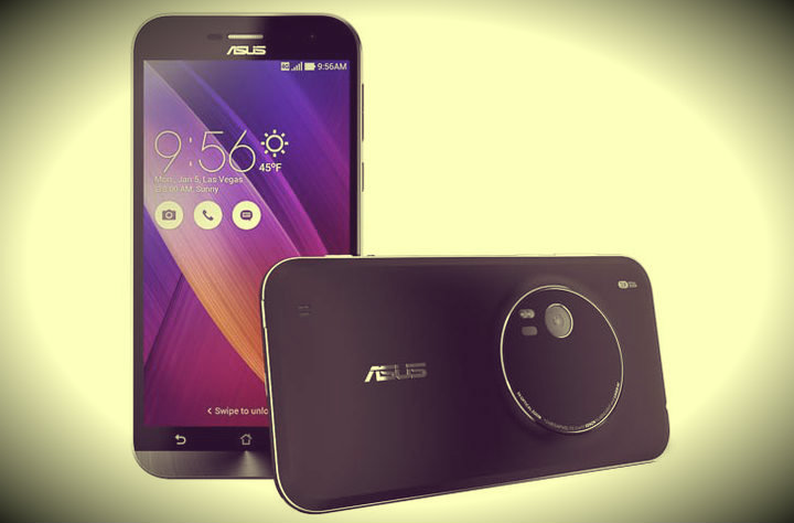 CES 2015. ASUS showed possibly the best cameraphone - Zenfone Zoom