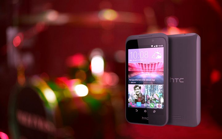 CES 2015. The company HTC showed Desire 320
