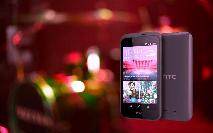 CES 2015. The company HTC showed Desire 320