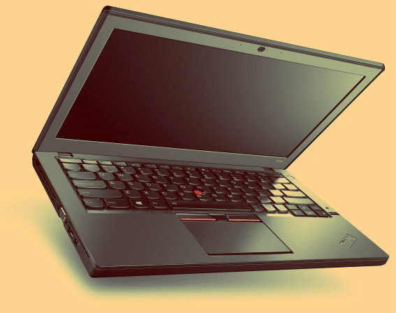CES 2015. Lenovo laptop is ThinkPad X1 Carbon third generation